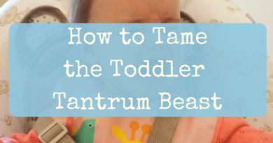 How to tame the toddler tantrum beast