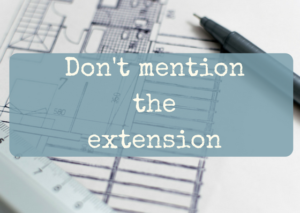 Don't mention the extension