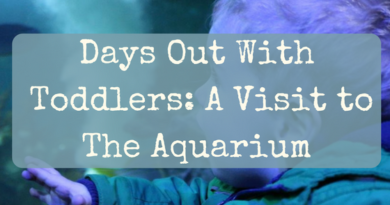 Days Out With Toddlers: A Visit to The Aquarium