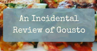 An Incidental Review of Gousto: A Recipe For Good (or Disaster?)
