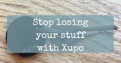 Stop losing your, er, stuff: The Xupo smart bluetooth tracker - WIN!