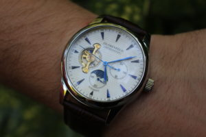 A review of the Globenfeld Limited Edition Antique Blue Steel Men's Automatic Watch