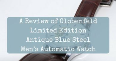 Globenfeld | Limited Edition Antique Blue Steel Men's Automatic Watch