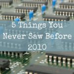 5 Things You Never Saw Before 2010