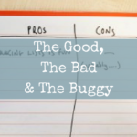 The Good, The Bad & The Buggy