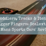 Toddlers, Tracks & Itchy Trigger Fingers: Scalextric 'Le Mans Sports Cars' Review
