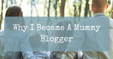 Why I became a Mummy Blogger title