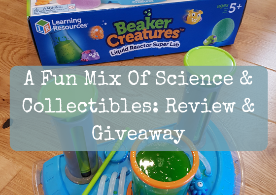 A Fun Mix Of Science & Collectibles: Review & Giveaway