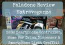 Paladone Review Extravaganza: SEGA Saturn Smartphone Controller, Home Bar Drink Dispenser & Smartphone Light Graffiti