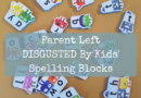 Parent Left DISGUSTED By Kids' Spelling Blocks
