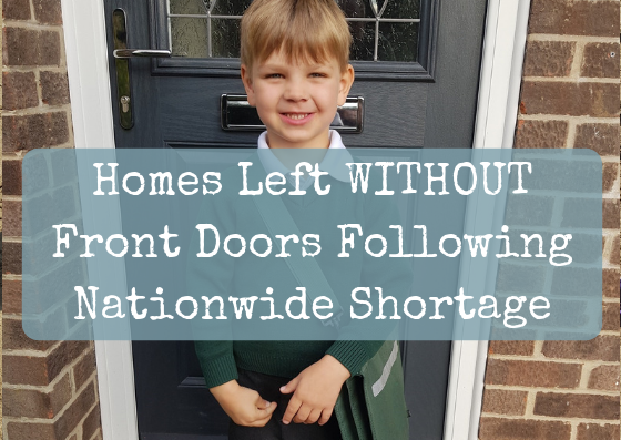 Homes Left WITHOUT Front Doors Following Nationwide Shortage