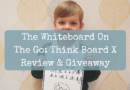 The Whiteboard On The Go: Think Board X Review & Giveaway