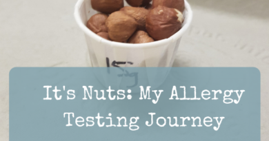 It's Nuts: My Allergy Testing Journey