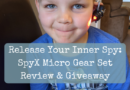 Release Your Inner Spy: SpyX Micro Gear Set Review & Giveaway