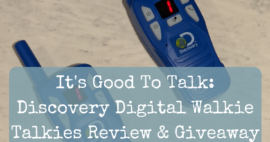 It's Good To Talk: Discovery Digital Walkie Talkies Review & Giveaway