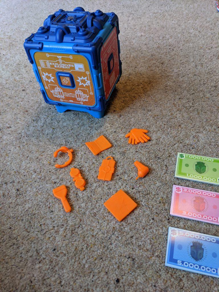 Bank Attack game safe