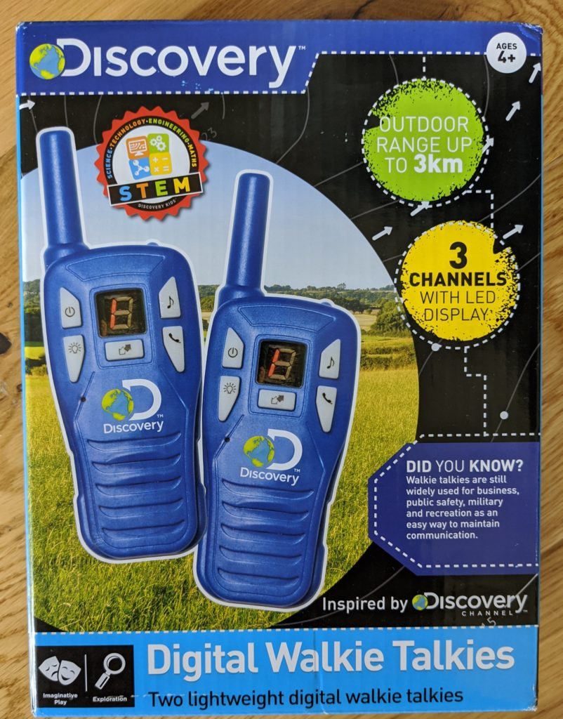 Discovery digital walkie talkie review