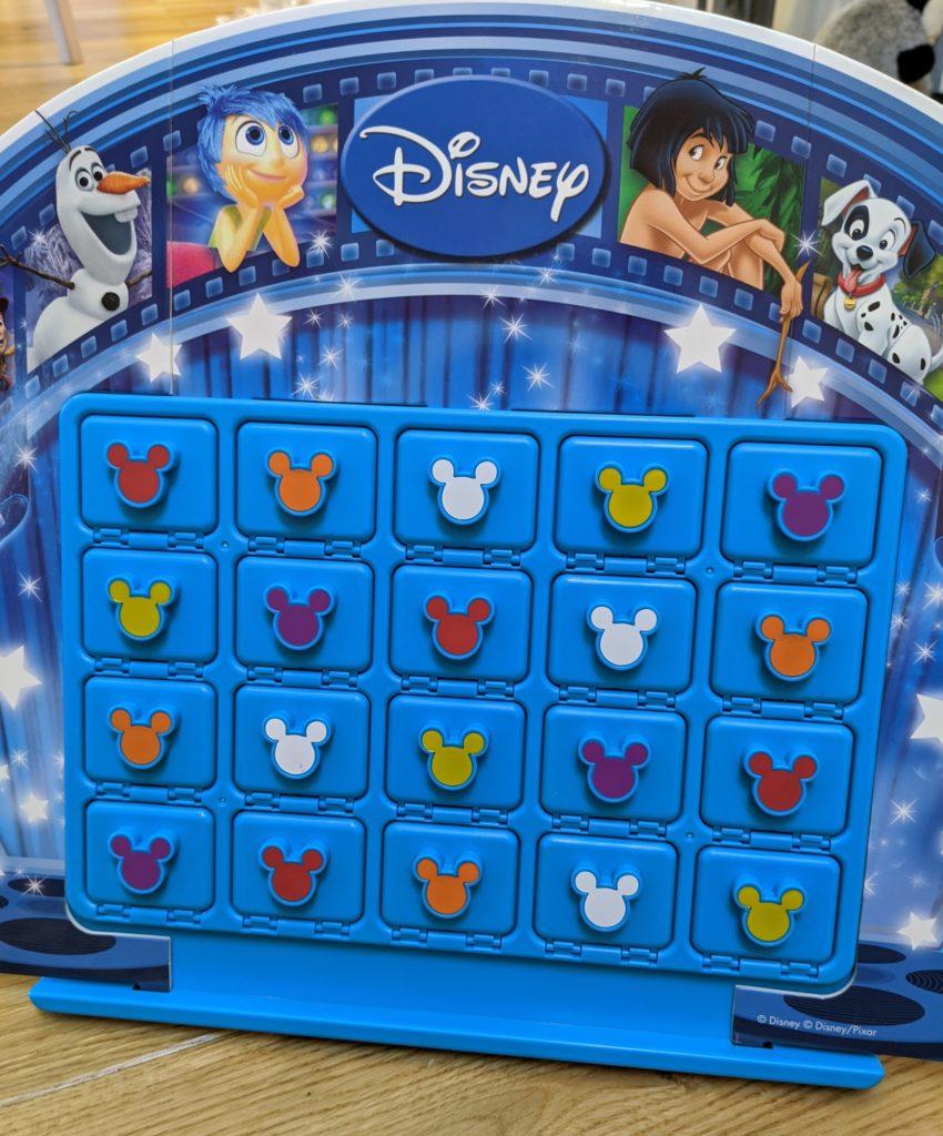 Disney guess the film game setup