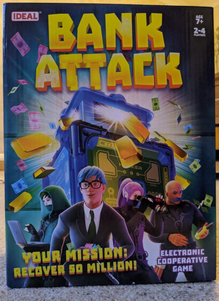 Bank Attack Game box