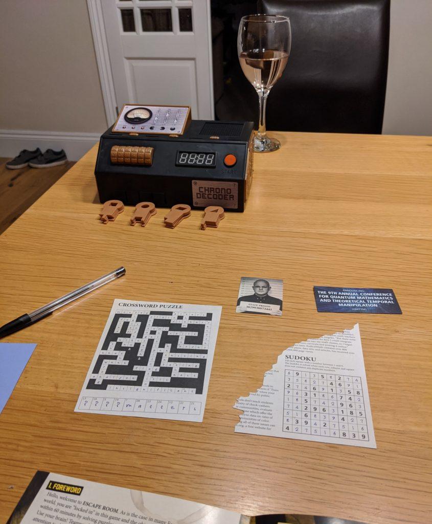Escape Room - The Game sample puzzle