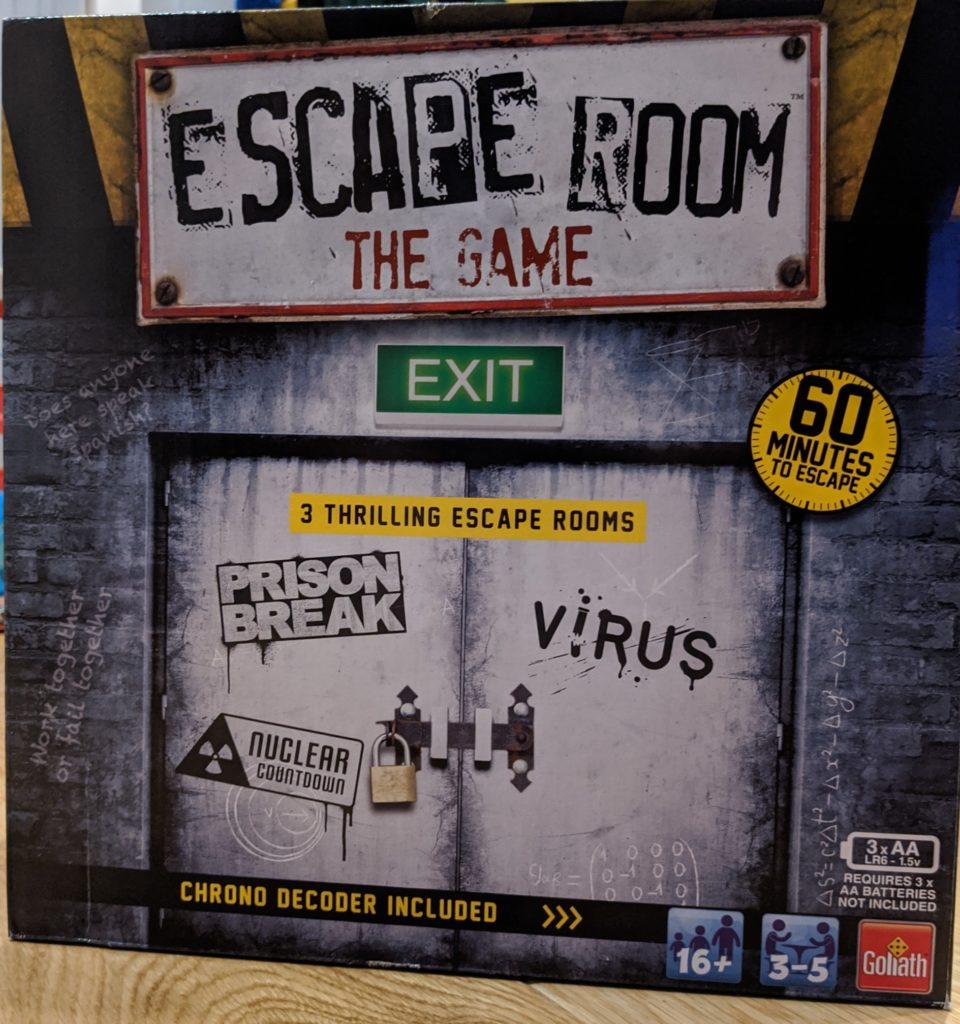 Escape Room - The Game Box