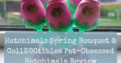 Hatchimals Spring Bouquet & CollEGGtibles Pet-Obsessed Hatchimals Review