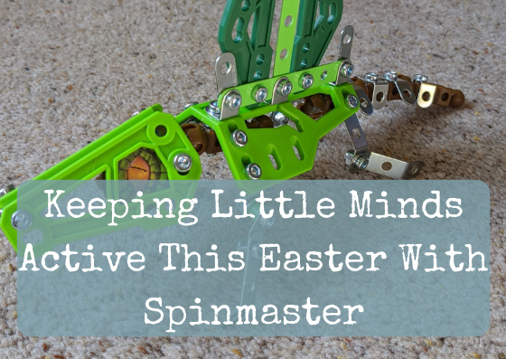 Keeping Little Minds Active This Easter With Spinmaster