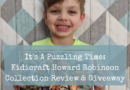 It's A Puzzling Time: Kidicraft Howard Robinson Collection Review & Giveaway