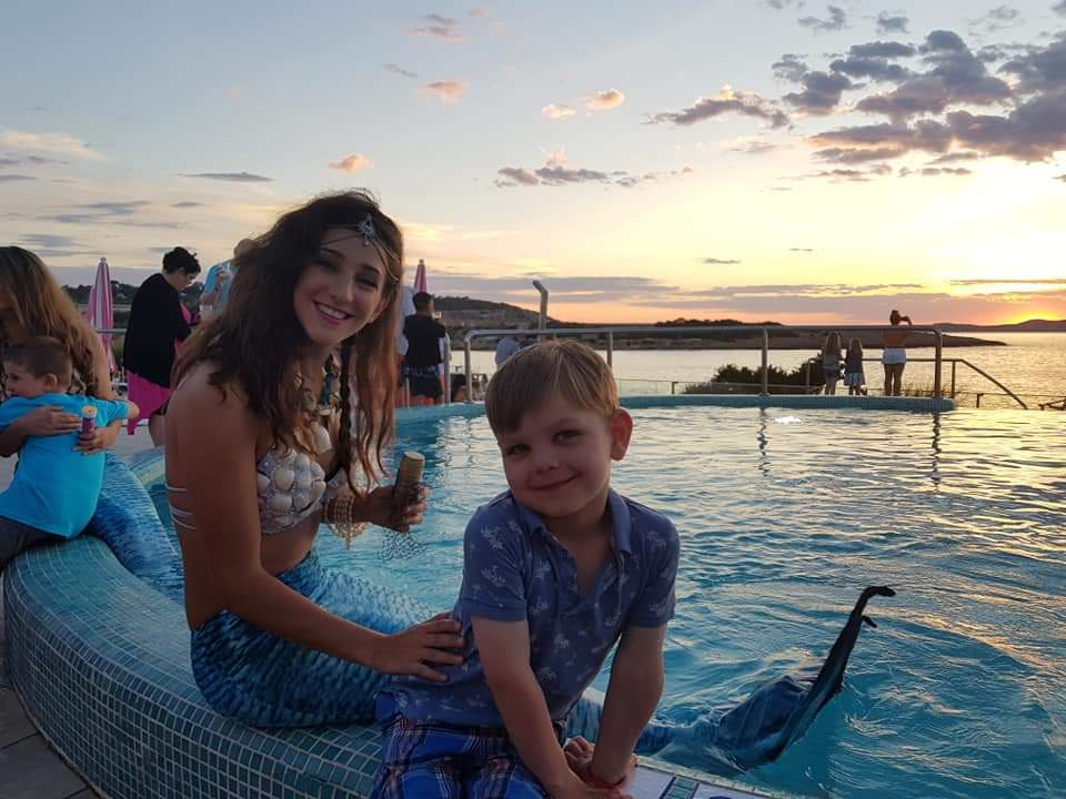Mermaids at Holiday Village Ibiza
