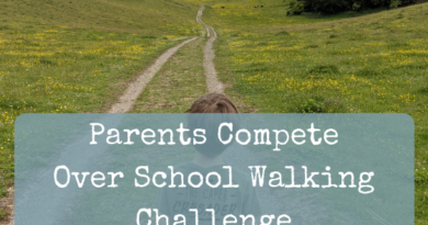 Pushy Parents Compete Over School Walking Challenge