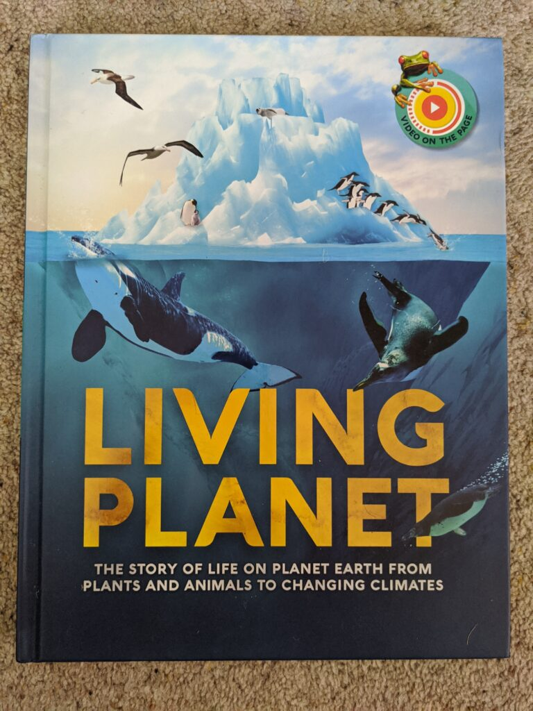 Living Planet Augmented Reality book