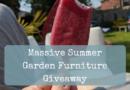 Massive Summer Garden Furniture Giveaway