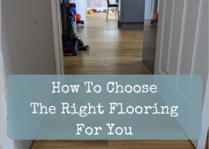 How to choose the right flooring for you header