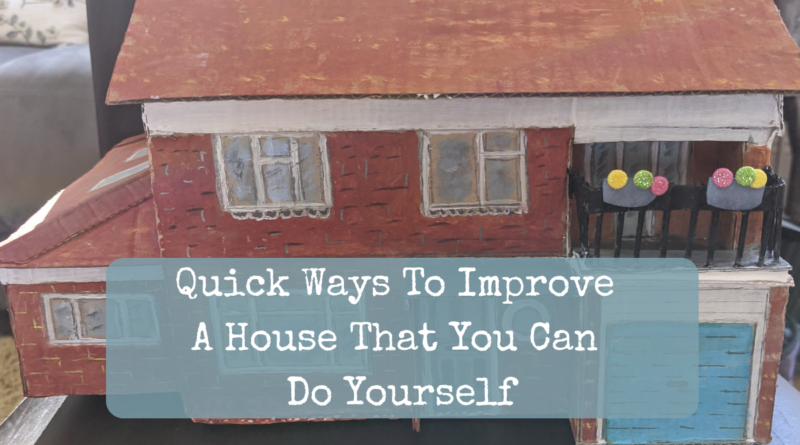 Quick ways to improve your house header
