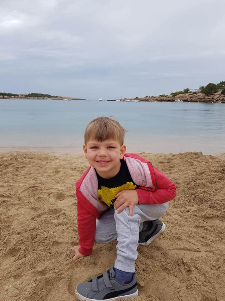 The beach by Holiday Village Ibiza