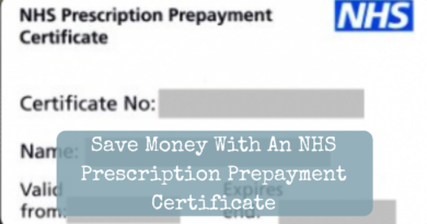 Save Money With An NHS Prescription Prepayment Certificate