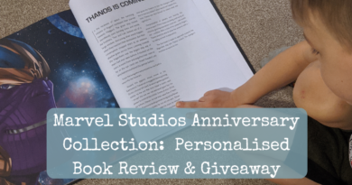 Marvel Studios Anniversary Collection:  Personalised Book Review & Giveaway