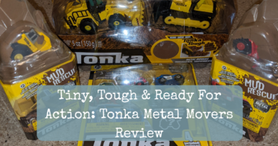 Tiny, Tough & Ready For Action: Tonka Metal Movers Review