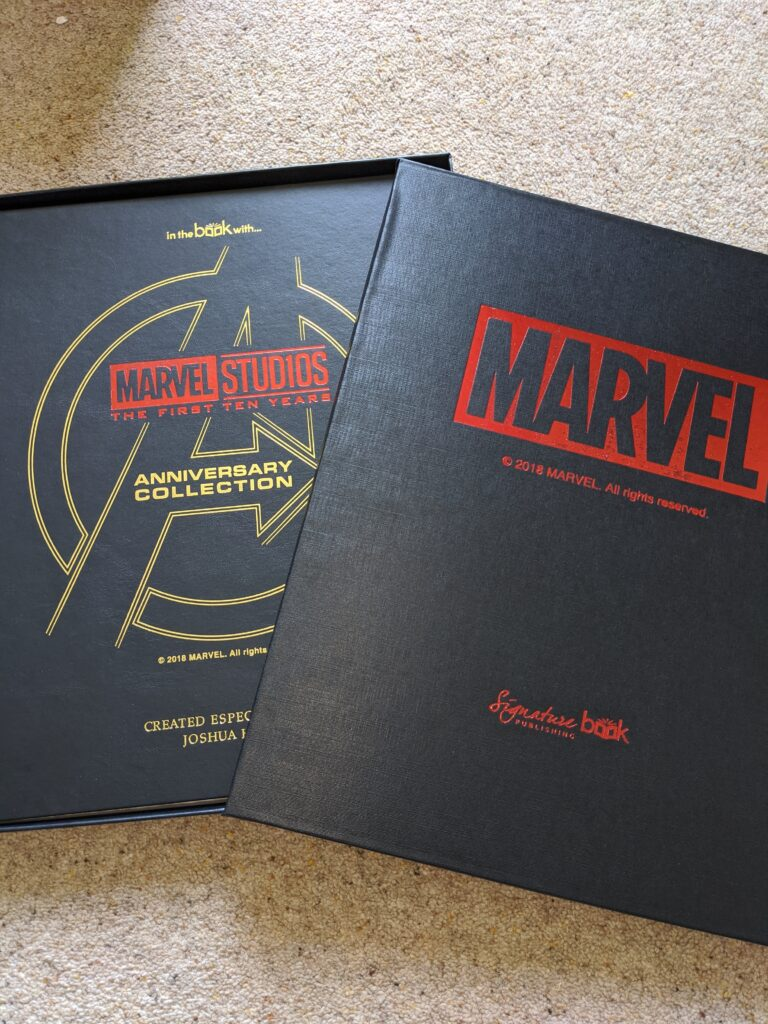 Marvel Avengers box and cover