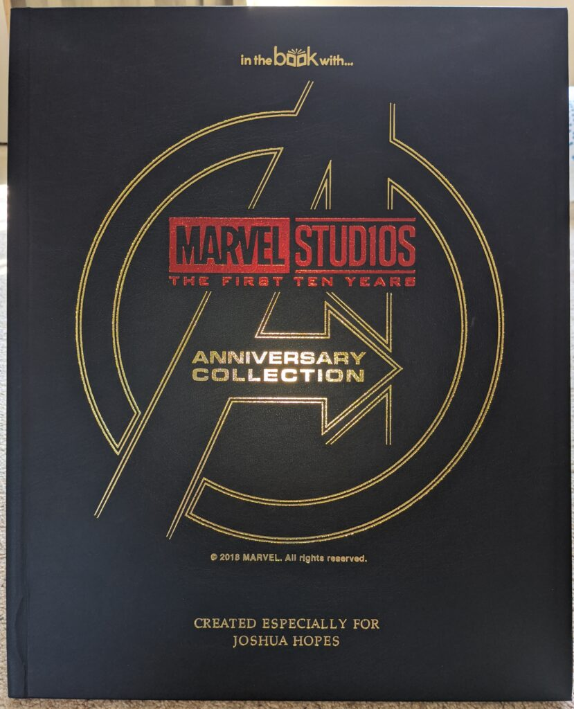 Marvel Studios Anniversary Collection cover