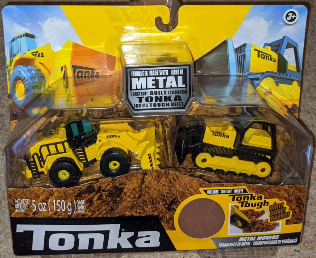 Tonka Metal Movers combo pack