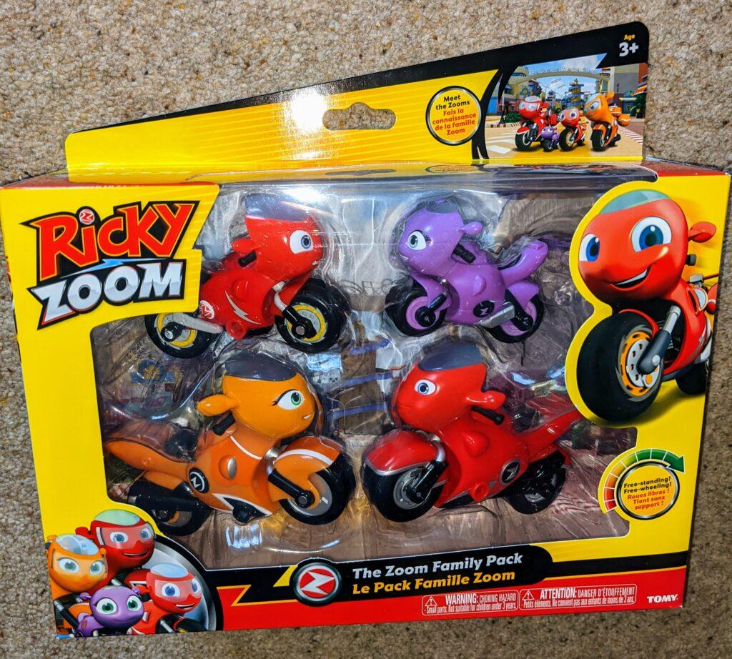 Ricky Zoom Family Pack