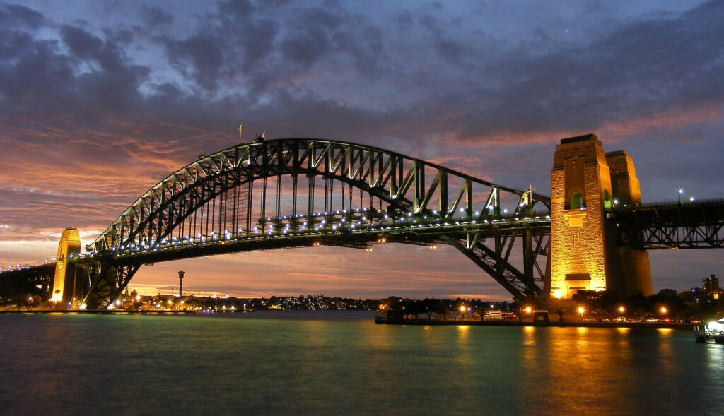Australian holiday - Sydney Harbour Bridge