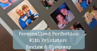 Personalised Perfection With Printster: Review & Giveaway