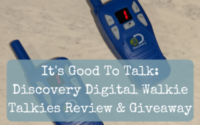 It's Good To Talk: Discovery Digital Walkie Talkies Review