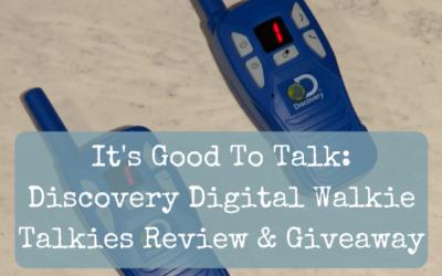 It's Good To Talk: Discovery Digital Walkie Talkies Review