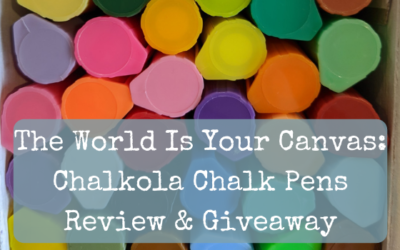 The World Is Your Canvas: Chalkola Chalk Pens Review
