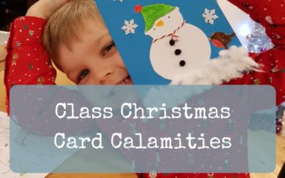 Class Christmas Card Calamities