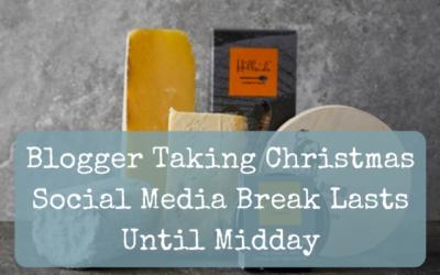 Blogger Taking Christmas Social Media Break Lasts Until Midday