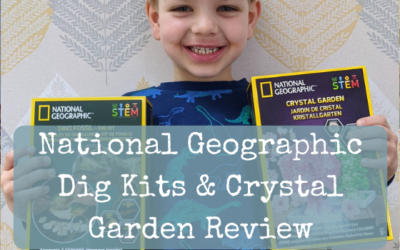 National Geographic Dig Kits & Crystal Garden Review
